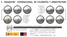 I Encuentro Internacional Filosofía  y Arquitectura