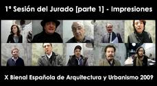 Vídeopost de la X Bienal Española de Arquitectura y Urbanismo