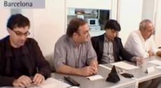 Mesa Redonda BCN-BsAs, Ferrater, Massip, Llinàs, Galí, Solsona, Silberfaden, Grossman, Acuña...