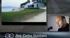 Conferencia de Carlos Quintáns, arquitecto