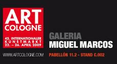 Galería Miguel Marcos en Art Cologne 09