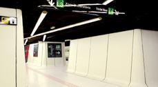 La estación de metro Drassanes, en Barcelona, rejuvenecida por ON-A arquitectos
