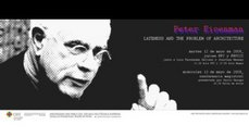 "Conferencia de Peter Eisenman: ""Lateness and the Problem of Architecture"""