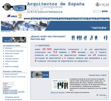 """Publicada en portada del Congreso 2009 de Arquitectos de España la """"ponencia sonora SCALAE"""""""
