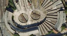 El depósito de locomotoras de Valladolid se convertirá en biblioteca