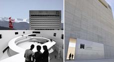 Inauguración del Centro Cultural Caja Granada, de Alberto Campo Baeza