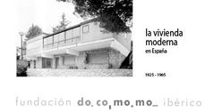 """Exposición """"La vivienda del movimiento moderno 1925-1965. Registro DOCOMOMO Ibérico"""" en Madrid"""