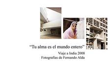"""""""Tu alma es el mundo entero"""": exposición de fotografía sobre la India en el Colegio de Cádiz"""