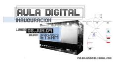 """Inauguración del Proyecto de Innovación Educativa """"Laboratorio Aula Digital"""" en la ETSAM"""