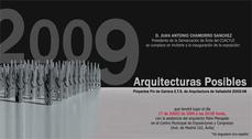 Arquitecturas posibles en CMEC de Ávila y visita guiada con Patxi Mangado