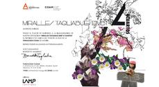 Exposición de EMBT en la Fundación COAM, Madrid